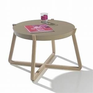 Grande Table Basse Ronde : petite table basse ronde odense meubles bouchiquet ~ Teatrodelosmanantiales.com Idées de Décoration
