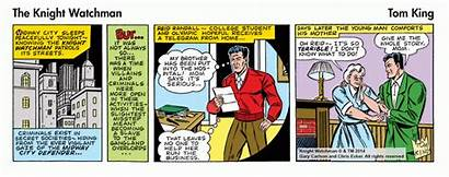 Watchman Comic Strip Knight Bang Peak Sneak