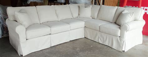 Sofa With Chaise Slipcover Sure Fit Stretch Pique Two Seat