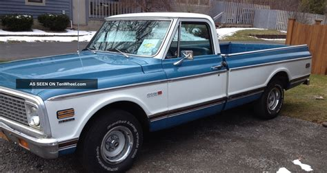 1972 Chevrolet Truck by 1972 Chevy C 10 Classic Truck Looking For Home