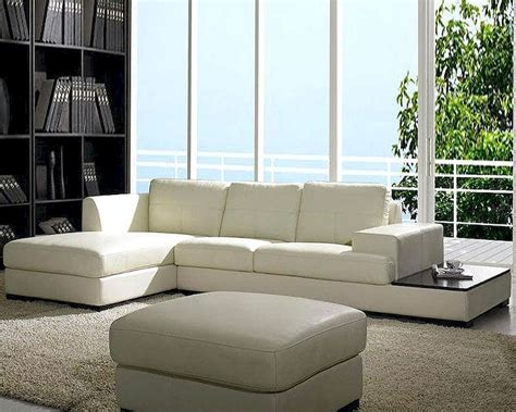 Contemporary Leather Sofa Sets by Contemporary Low Profile Leather Sectional Sofa Set 44lbo3893
