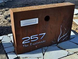 letterbox large po box designs With personalized letter box