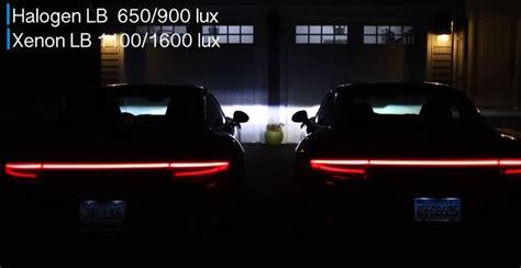 porsche headlights at night porsche 911 led vs xenon comparison comes from youtuber
