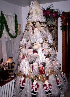 santa theme christmas tree christmas tree themes color