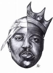 Tupac and Biggie Smalls by MehtievaSabina on DeviantArt