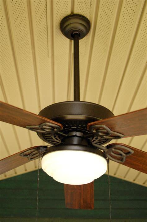 Ceiling Fan Wobbles A Bit by The Great Outdoor Fan Renovation Living Rich On