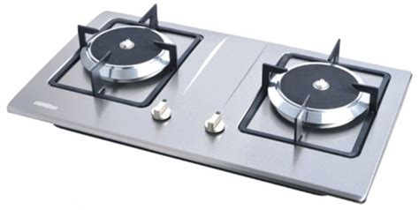 Hw213l Built-in Two Burner Infrared Gas Cooktops/stainless