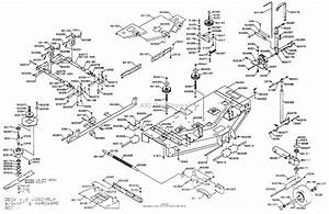 Dixon Ztr 6025  1999  Parts Diagram For Mower Deck 60 U0026quot
