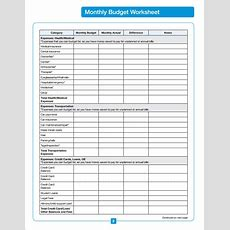 Sample Home Budget  13+ Documents In Pdf, Excel