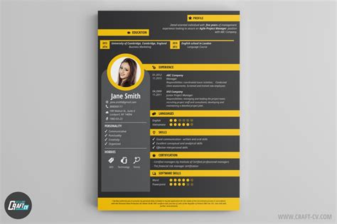 Free Creative Resume Builder by Resume Builder Creative Resume Templates Craftcv