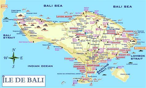 Carte Du Monde Voir Bali by Carte Bali Carte Du Monde