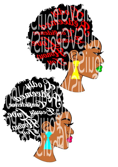 Snow white line art free vector. Afro svg,Afro lady svg,Silhouette Cameo cutting file ...