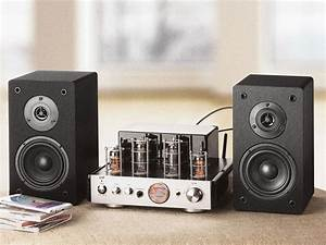 Hybrid Stereo Tube Amplifier With Bluetooth
