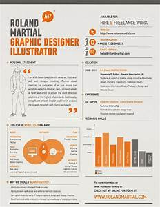 25 Graphic Designer CV Resume Designs