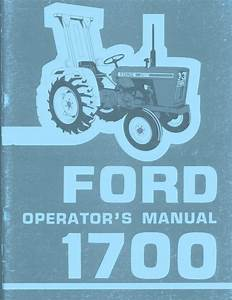 Ford 1300 Tractor Manual Download