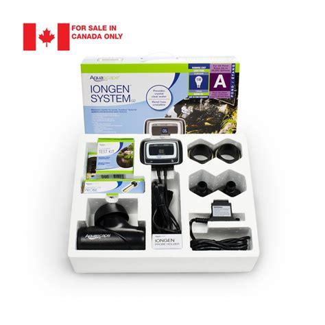 Aquascape Canada by Iongen System G2 Canada Aquascape Inc