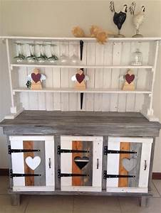 10 diy wood pallet shelf ideas 1001 pallet ideas With kitchen cabinets lowes with diy pallet wall art