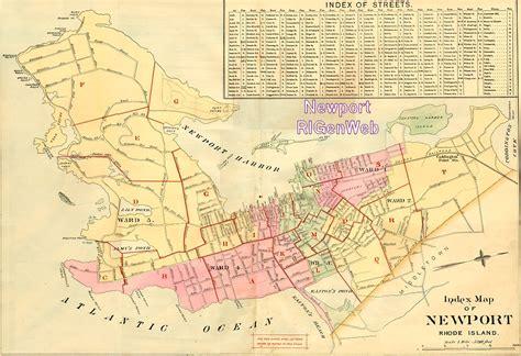 maps  newport county rhode island
