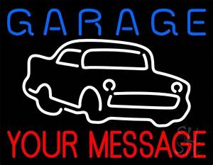 Custom Garage Car Logo 1 Neon Sign