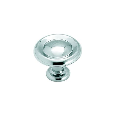 round chrome cabinet knobs shop amerock hint of heritage polished chrome round