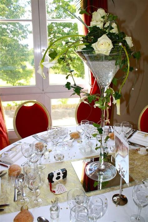 location chaise table mariage location vases martini décoration table mariage magny en