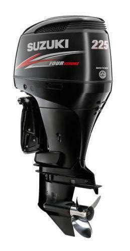 Used Suzuki Outboard Parts by Suzuki 225 Outboard Engines Components Ebay