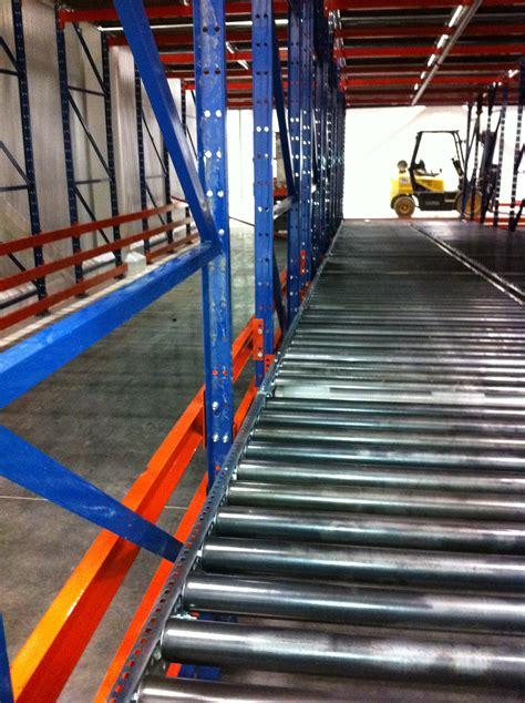pallet flow rack pallet flow rack gravity flow racking ak material
