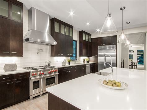 kitchen white cabinets black countertops 53 high end contemporary kitchen designs with 8727