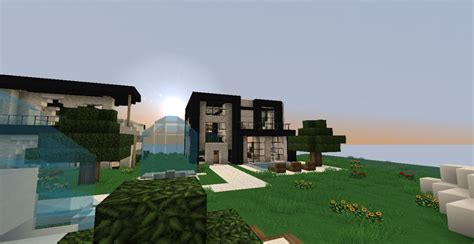 Luxury Modern House For Minecraft 131 Part 3 Minecraft