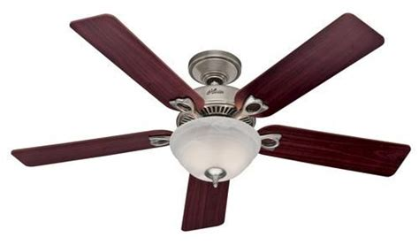 hunter dominion   bowl ceiling fan  menards