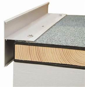Ortgangblech Flachdach Montieren : dachrandabschlussprofile einteilig flachdach ab anschl sse baunetz wissen ~ Whattoseeinmadrid.com Haus und Dekorationen
