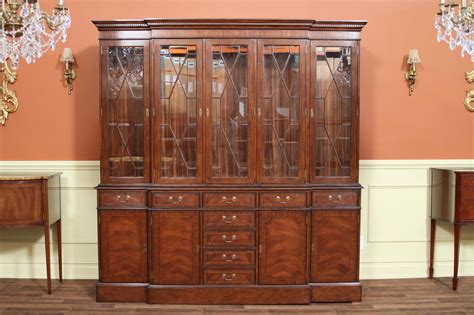 pictures of china cabinets traditional high end mahogany china cabinet