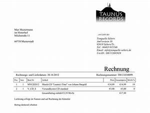 Rechnung Musiker : unser shop f r musiker taunus records ~ Themetempest.com Abrechnung