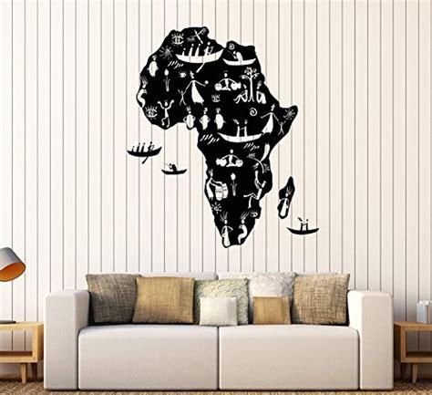 World map wall art south africa masata design : FirstDecals Vinyl Wall Decal Africa Continent African ...