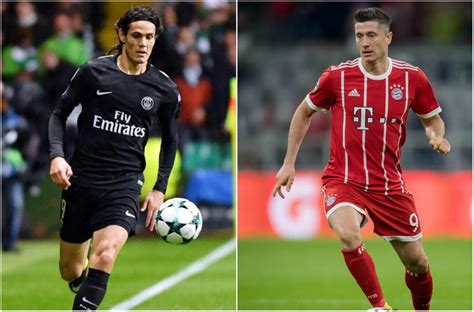 PSG - Bayern : Cavani-Lewandowski, comme on se ressemble ...