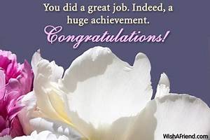 Congratulations... Great Achiever Quotes