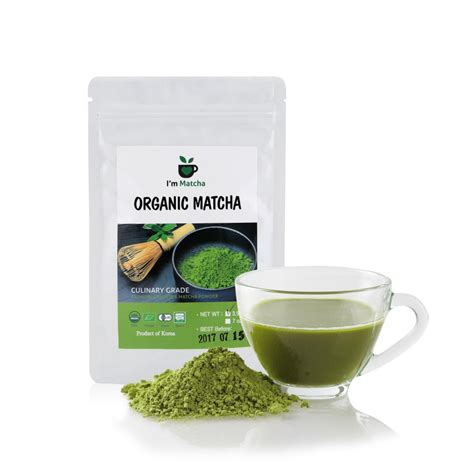 organic green tea matcha powder gozculinary grade