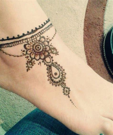 ankle tattoo  eid henna hennatattoo tattoo cuff