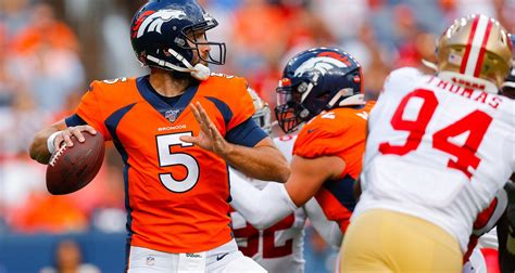 With Joe Flacco 'out,' Denver to give Brandon Allen first ...