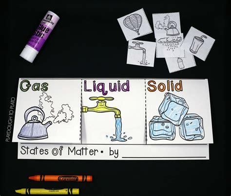 states of matter activity playdough to plato