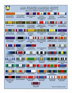 Air Force Ribbon Chart Air Force Junior Rotc Ribbon Chart