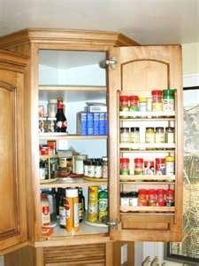 Craft Ideas For Kitchen - idea for spice rack craft ideas pinterest kitchens