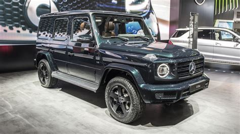2019 Mercedesbenz Gclass Design Background Autoblog