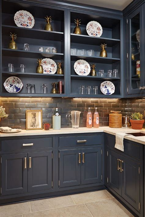 blue kitchen cabinets paint colors 80 cool kitchen cabinet paint color ideas