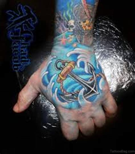 outstanding anchor tattoos  hand