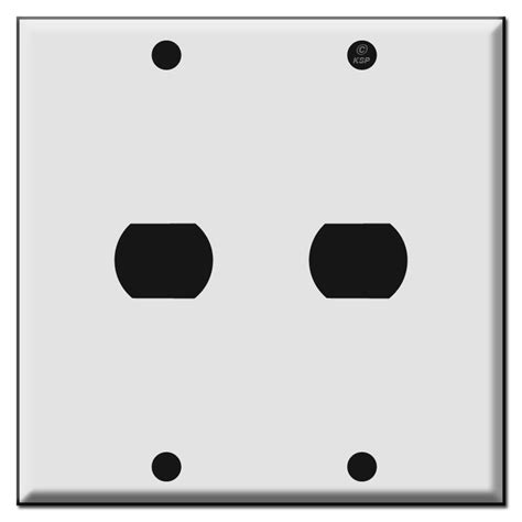 low voltage light switch covers double one hole low voltage trigger switch plate covers