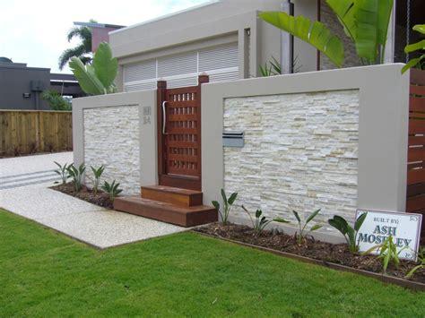 garden feature wall colours split stone cladding stone tile studio brisbane