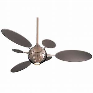 Ceiling fan with six blades and light kit f bn