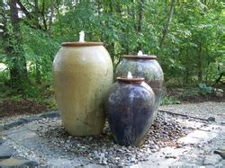 pottery fountains