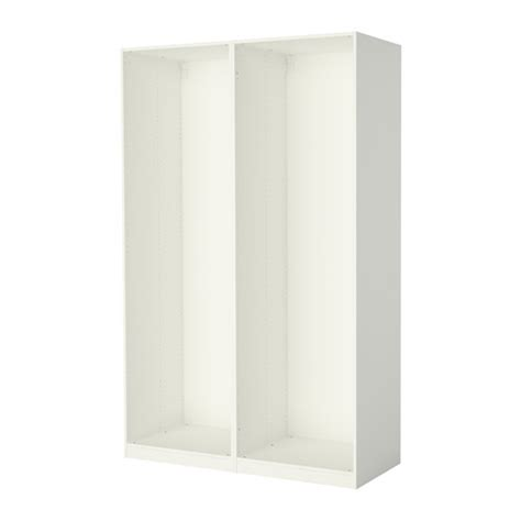 pax 2 caissons armoire blanc ikea